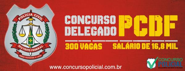 Concurso Delegado PCDF 2013