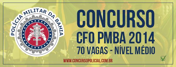 Concurso Curso de Formação de Oficiais da Polícia Militar da Bahia 2014