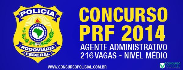 Concurso Agente Administrativo PRF 2014