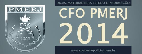 Concurso CFO PMERJ 2014