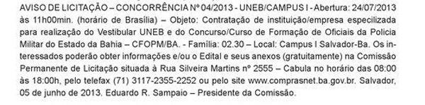 CFO PMBA 2013