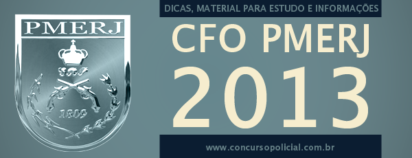 CFO PMERJ 2013