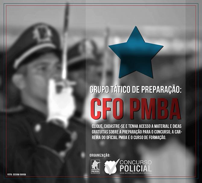 Grupo Tático CFO PMBA