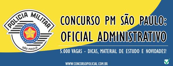Oficial Administrativo PMESP