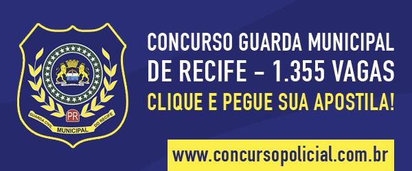 Apostila preparatóra GM Recife 2014
