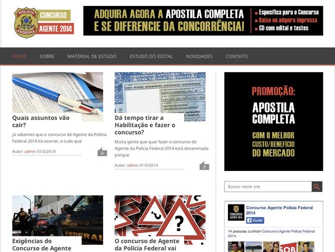 Blog Concurso da Polícia Federal 2014