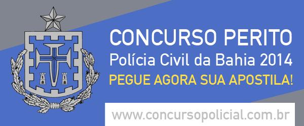 Apostila Concurso Polícia Civil 2014