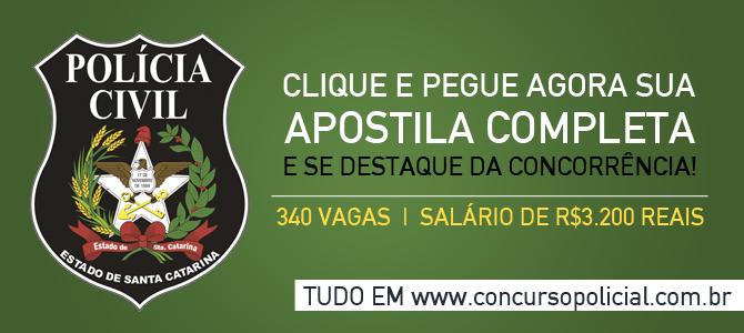 Apostila Agente PCSC 2014