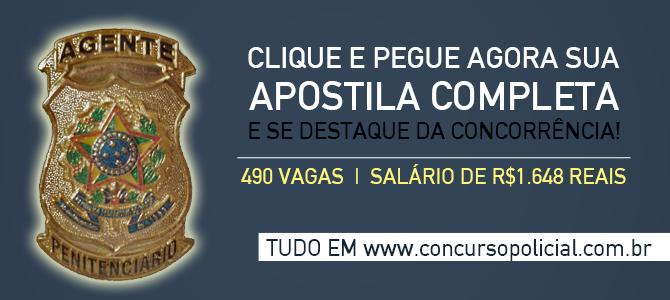 Apostila Concurso Agente Penitenciário Bahia