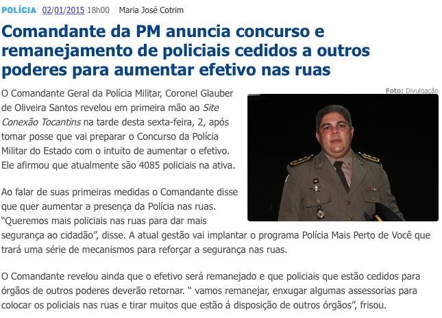 Concurso da Polícia Militar do Tocantins - PMTO