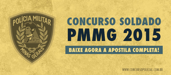Concurso Soldado PMMG 2015