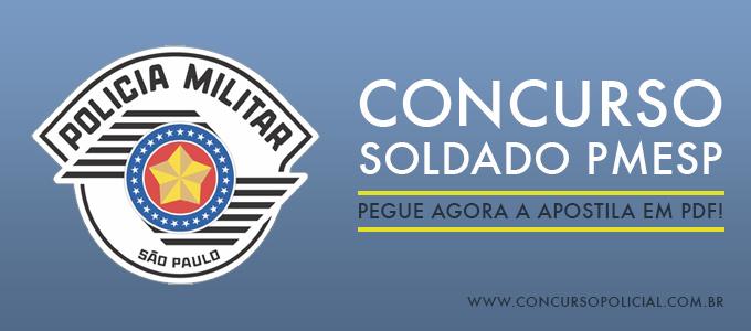 Concurso Soldado PMESP 2015