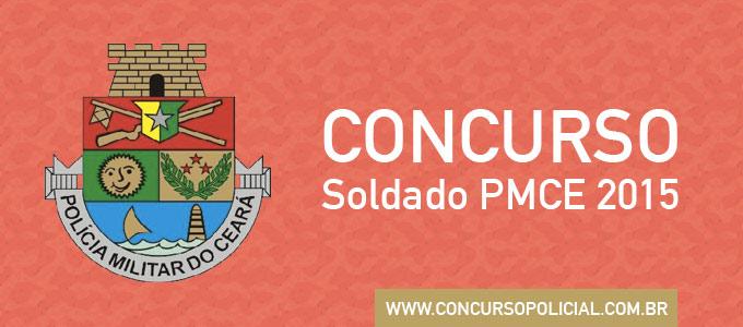 Concurso Soldado PMCE 2015