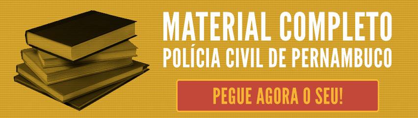 Concurso da Polícia Civil de Pernambuco