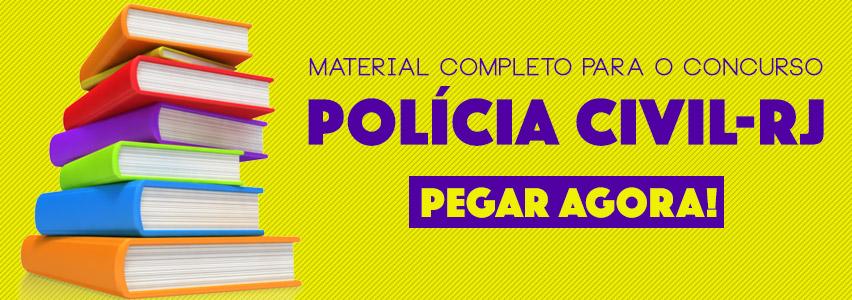 Material Concurso Polícia Civil - RJ