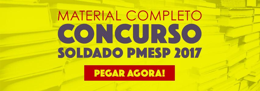 Concurso Soldado PMESP 2017