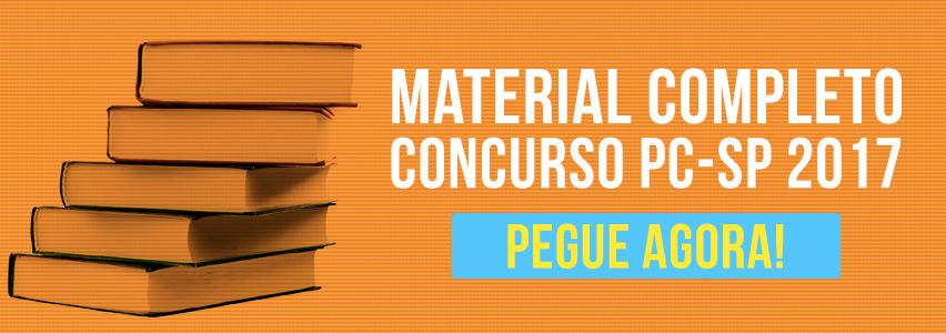 Material Concurso Polícia Civil de São Paulo 2017
