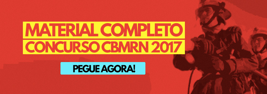 Concurso Bombeiro RN 2017
