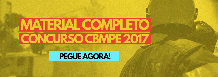 Apostila Concurso CBMPE 2017