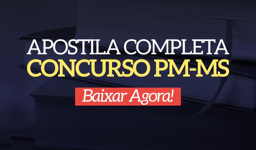 Apostila Concurso PM-MS