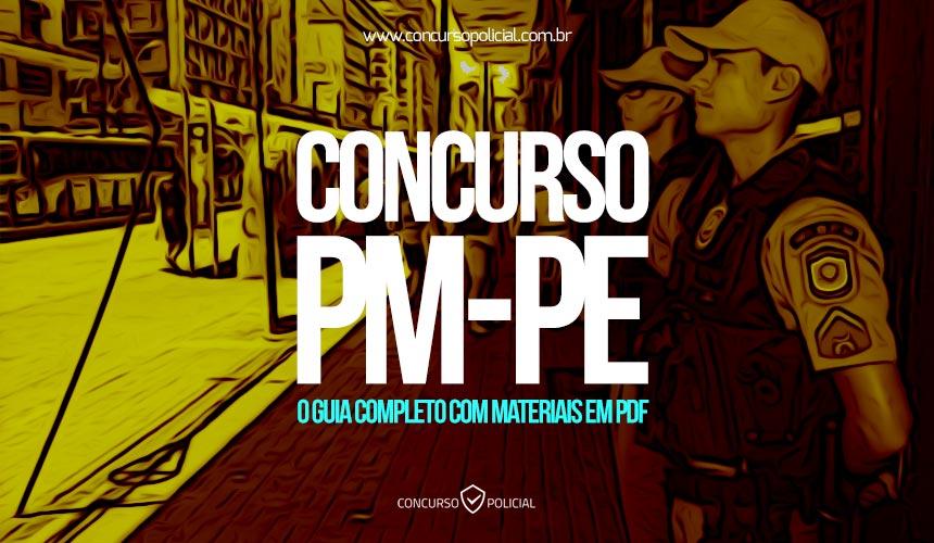Concurso PM-PE