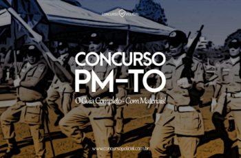 Concurso PM-TO: o Guia Completo com materiais!