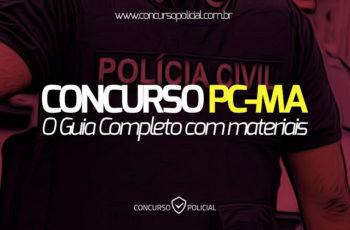 Concurso PC-MA: o Guia Completo (com materiais em PDF!)
