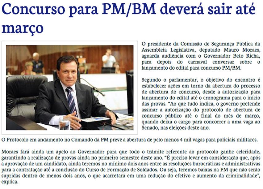 Autorização Concurso PM-PR
