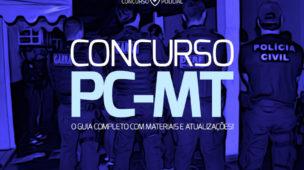 Concurso PC-MT