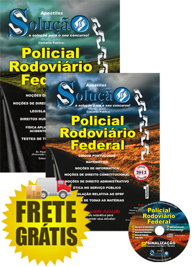 Apostila Concurso PRF 2013