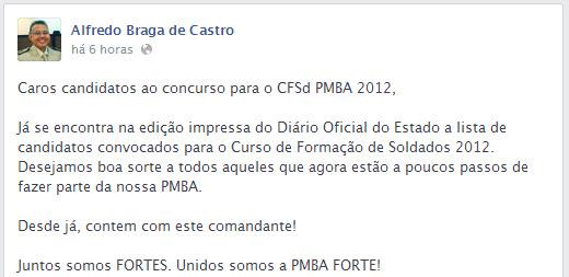 Resultado - Coronel Castro