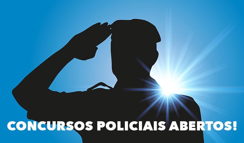 Concursos policiais abertos!