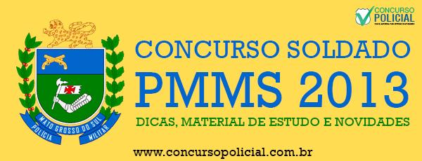 Concurso soldado PMMS