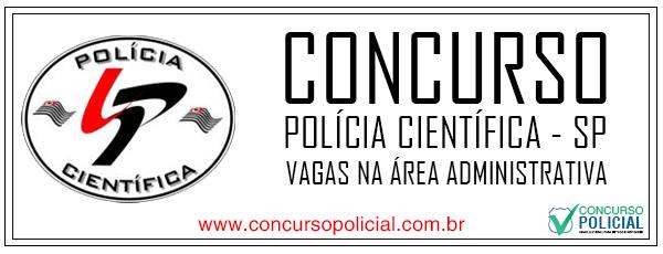 Concurso Polícia Científica São Paulo