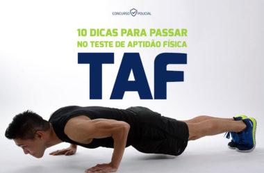 10 dicas para passar no Teste de Aptidão Física (TAF)