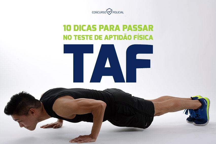 Teste de Aptidão Física - TAF