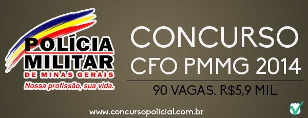 Concurso CFO PMMG 2014