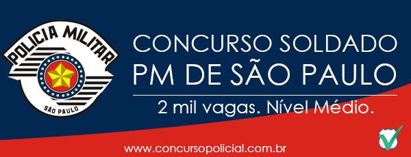 Concurso Soldado PMESP 2013