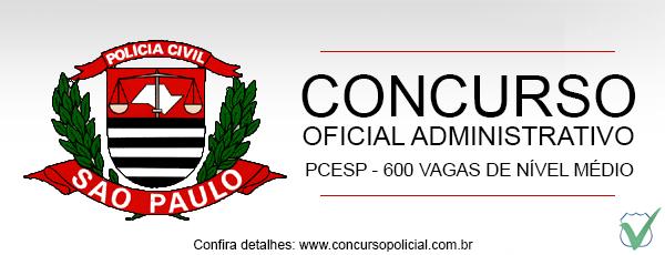 Concurso Oficial Administrativo Polícia Federal 2013