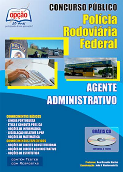 apostila prf agente administrativo 2014