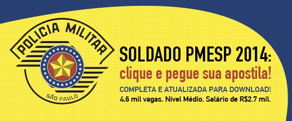 Apostila Soldado PMESP 2014