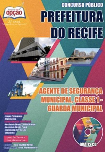 Apostila Concurso Guarda Municipal Recife 2014