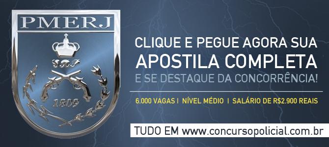 Apostila Concurso Soldado PMERJ 2014