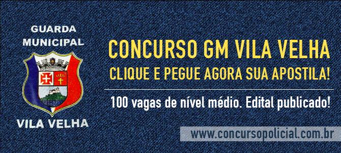 Apostila Concurso Guarda Municipal de Vila Velha