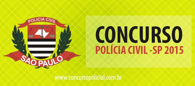 Concurso Polícia Civil de São Paulo 2015