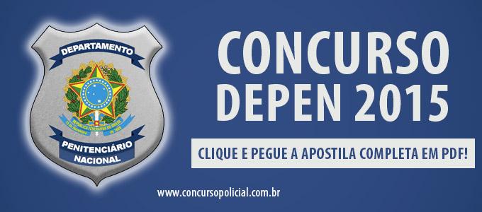 Apostila Concurso DEPEN 2015
