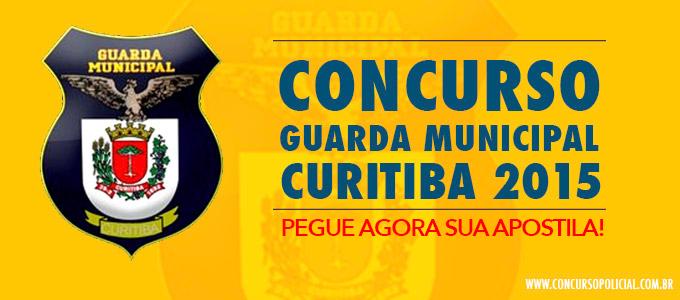 Apostila Concurso Guarda Municipal Curitiba
