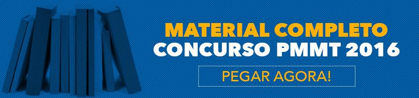 Apostila Concurso PMMT 2016