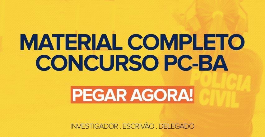 Apostila Concurso PC-BA