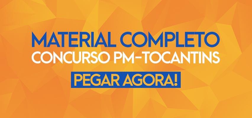 Apostila Concurso PM-TO